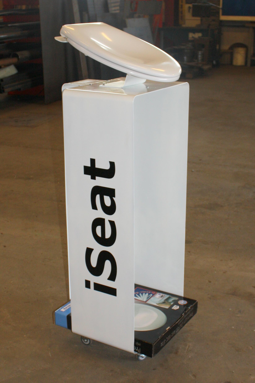 Iseat holder til opstilling i Byggemarkeder